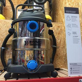 Aspirador nuevo polvo agua Acil 40 litros