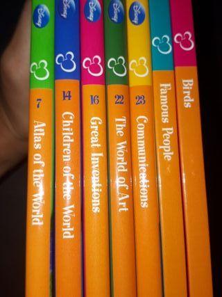 Colección de libros Diney en inglés