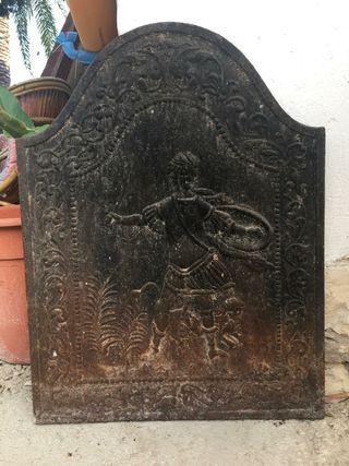 placa para chimenea