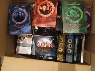 Películas y series en DVD