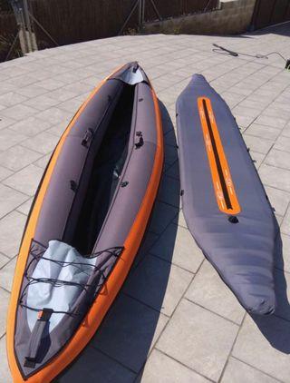 Kayak hinchable 3 plazas decathlon