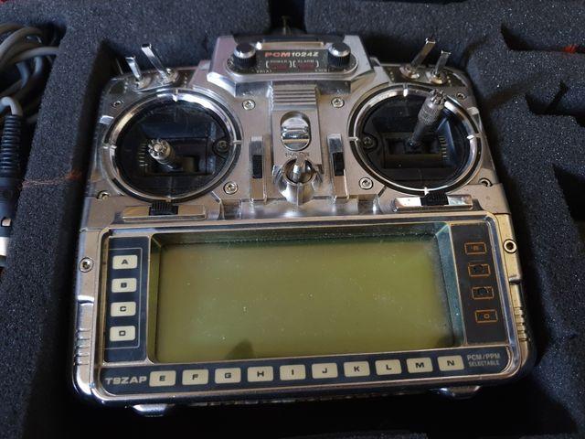 Futaba T9ZAP RX & TX RC Remote Radio