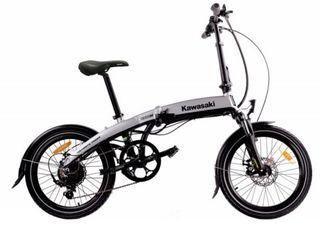 Bicicleta plegable eléctrica KAWASAKI 20 NUEVA
