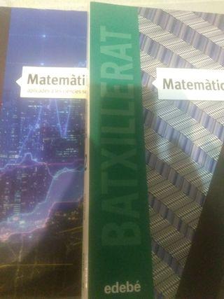 libro 2 batxillerat. matematiques aplicades