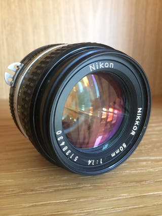 Objetivo Nikon Nikkor 50mm f/1.4 AIS