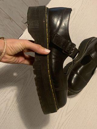 Dr. martens platform shoes
