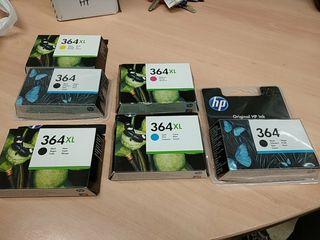 tinta de impresora HP 364 xl nueva por estrenar
