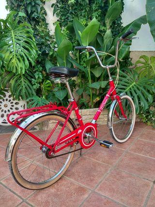 Bici clásica de paseo BH plegable