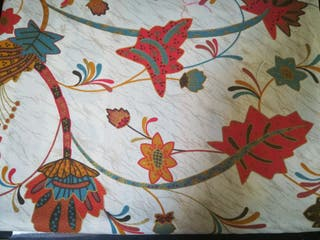 grand foulard basetti, tela para sofa sillón