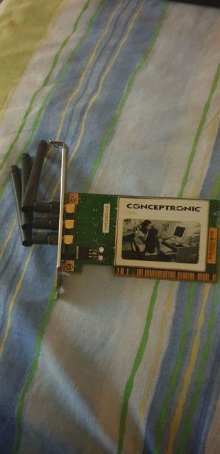tarjeta de wifi. 300mbps