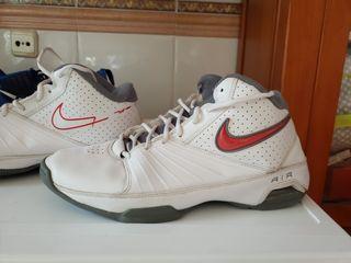 zapatillas baloncesto nike blancas