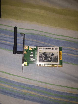 tarjeta de wifi 54mbps.