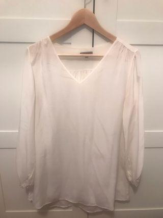 Blusa seda Uterque