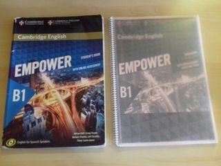 Libros inglés Cambrige B1 EOI