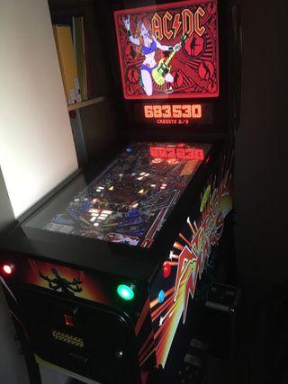 Virtual pinball flipper recreativa maquina arcade