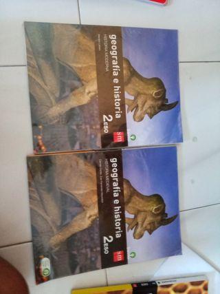 Libros de Geografía e historia 2°ESO