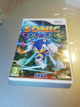 Videojuego Sonic Colours Wii