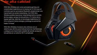 Auriculares ROG Strix Wireless 7.1 ¡PRECINTADO!