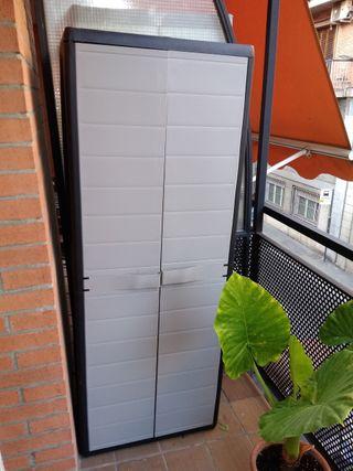 Armario de resina terraza balcón