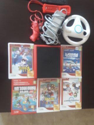 WII +juegos y sus accesorios