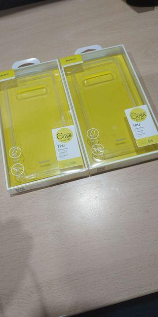 Funda transparente Samsung Galaxy S10 y S10 Plus