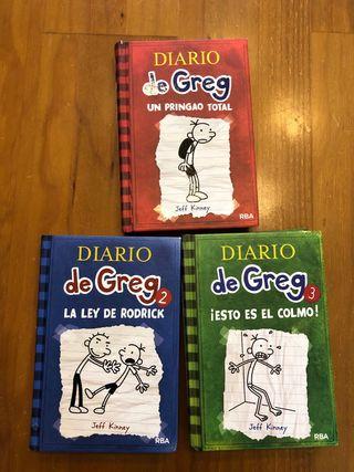 Libros 1-3 El diario de Greg