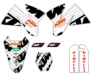 KIT PEGATINAS KTM 1998-2001