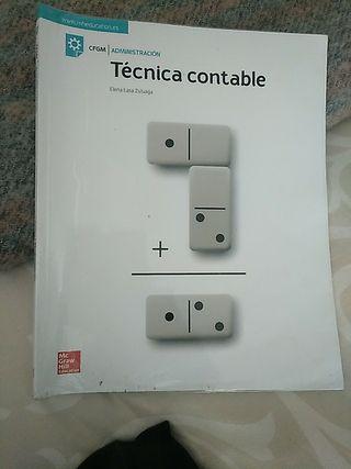Libro de Técnica contable.