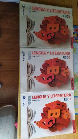 libros de lengua 3 de eso