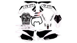 kit pegatinas KTM 2012, 2013 EXC, SX, SMC