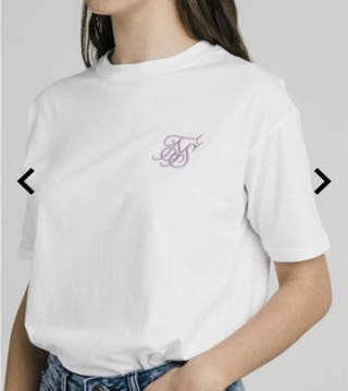 Camiseta blanca SIKSILK