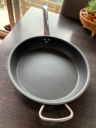 Sartén acero 18/10 de 37 cm