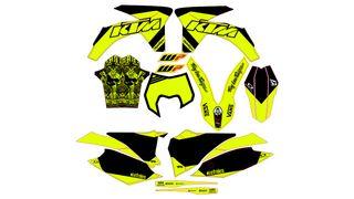 kit ADHESIVOS PARA KTM 2012, 2013 EXC, SX, SMC