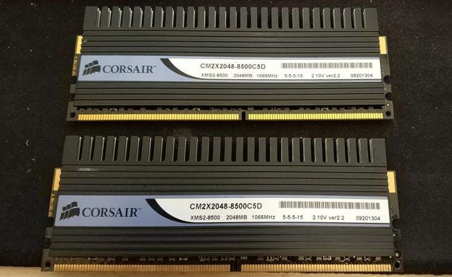 Memoria RAM DDR2 Corsair Dominator