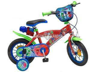 Bicicleta Infantil PJ Masks 12 pulgadas