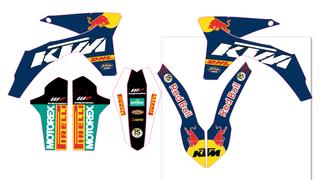 pegatinas para KTM 2012, 2013 EXC, SX, SMC
