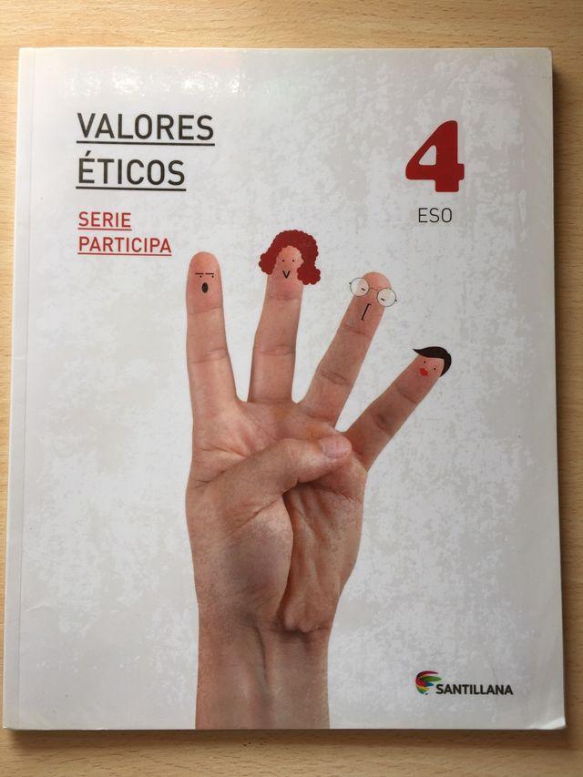 Vendo libro valores ético, santillana, 4ESO