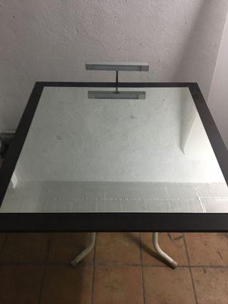 Espejo de baño con aplique led