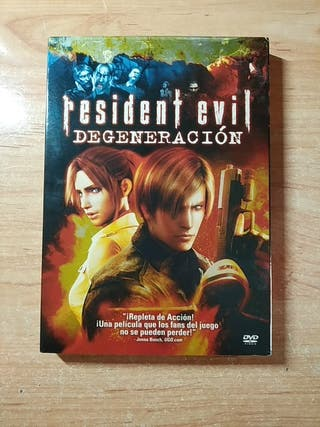Resident Evil Degeneración DVD como nueva