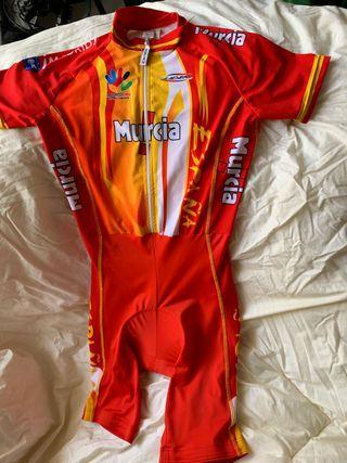 Maillot culotte ciclismo talla XS