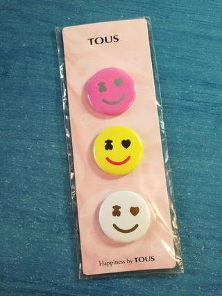 Pack 3 pins de Tous