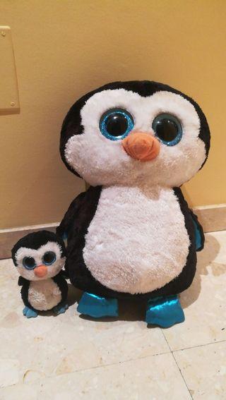 Peluche TY talla grande Pingüino