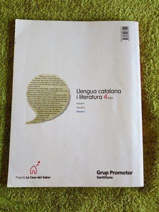 lengua catalana y literatura 4º eso