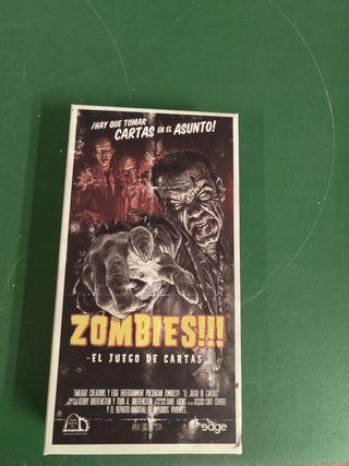 Zombies! el juego de cartas