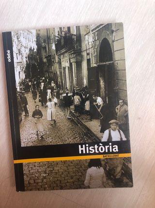 Libro historia bachillerato edebe