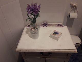 Conjunto cuarto de baño.