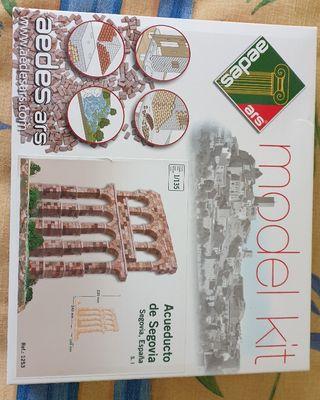 maqueta acueducto de Segovia