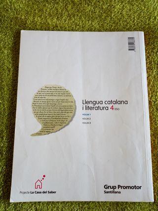 lengua catalana y literatura volumen 1