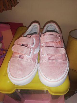 zapatillas niña número 27