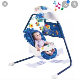 Columpio de bebé fisher price